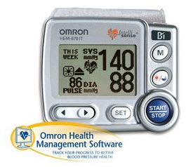 omron blood pressure monitor instructions
